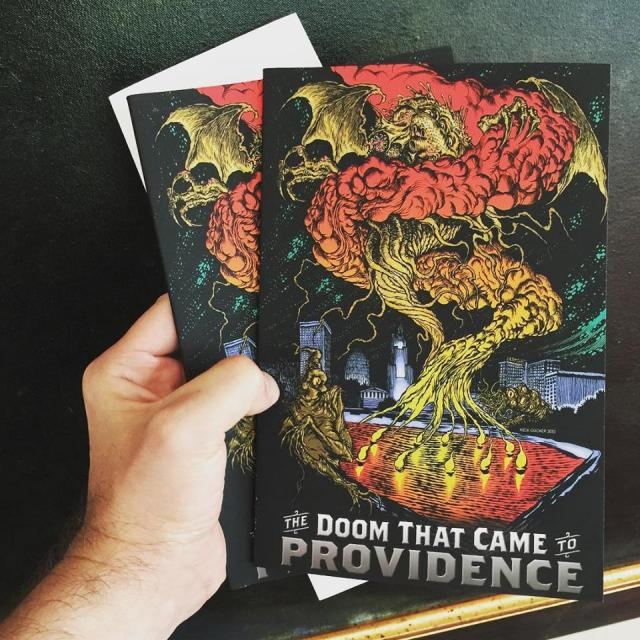 My contributor's copies of The Doom That Came to Providence