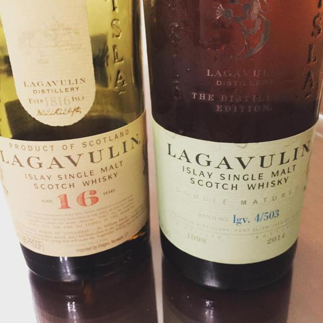 Two Lagavulins are better than one
